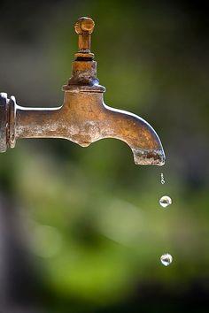 <3 old garden taps