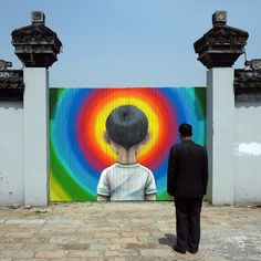 Tales from the countryside, part 8, Fengjing, China - Street Art by Seth Globepainter