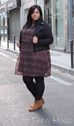 Plus Size Fashion - My Folk Dress. - Curvy Mood