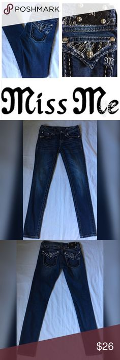 Miss Me Skinny Jeans Size 25 Length 31 Miss Me Skinny Jeans Size 25 Length 31 Miss Me Jeans Skinny