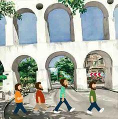 Los Hermanos' Abbey Road Style at Lapa