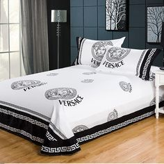 Bed Sheets Keep Coming Off Bedroom Bed Design, Bedroom Sets, Bedroom Decor, Duvet Bedding Sets, Bed Duvet Covers, Comforters, Versace Bedding, Designer Bed Sheets, How To Dress A Bed