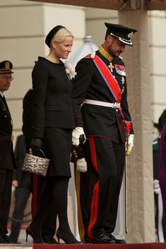 Princess Mette-Marit - Norwegian Royals Host State Visit From Lithuania - Day 1