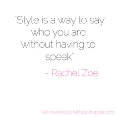 Get inspired with #fashion #quotes