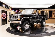 1986 Ford Pickup Vin: Check out this awesome 1986 Ford Pickup! This Ford has only Original Miles and it's sporting a. Pickup Trucks For Sale, Lifted Ford Trucks, Old Trucks, Ford F150 Xlt, Gasoline Engine, Old Fords, 4x4, Monster Trucks, Wheels