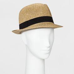 NWT A New Day Heather Fedora Target Summer Hat Beach Hat Summer Hat   fashion   ac8763f7e1a7