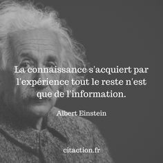 Citation Einstein, Quote Citation, Albert Einstein, Positive Attitude, Positive Vibes, Positive Quotes, Motivational Phrases, Best Inspirational Quotes, Good Thoughts