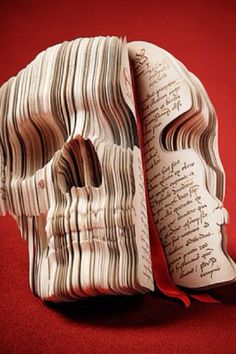 Skull Book Sculpture / The Adventurer's Diary: Souverein