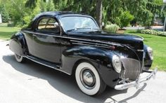 1939 Lincoln-Zephyr V-12 Coupe #Lincoln