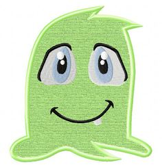 Green Monster-2 - EmbroiderOcean Design