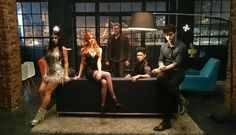 Here it is! The first photo EVER of the cast together in costume! #Shadowhunters