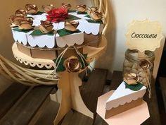 Scatoline a forma di fetta di torta per confetti. Ideale per matrimoni, eventi, cene, feste di compleanno. Un dolce pensiero per i propri ospiti! :D