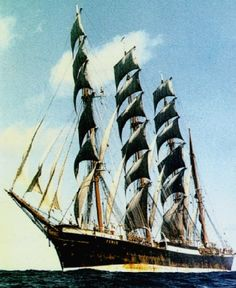 A four-masted barque, was one of the famous Flying P-Liner sailing ships of the German shipping company F. Laeisz. She was the last…