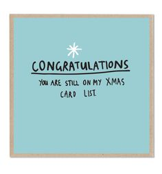 I don't think I'd actually send someone this but it is funny! Christmas Card Messages Funny, Christmas Card Sayings, Xmas Cards, Christmas Humor, Christmas Yard, Christmas Goodies, Funny Good Morning Messages, Funny Messages, Funny Cards