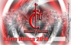 Karta Kibica Crusaders Warszawa Sezon 2014