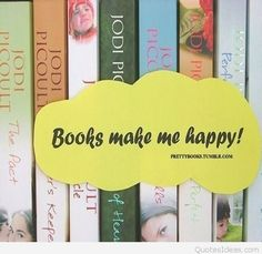 Books make me happy!
