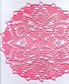 Crochet-a-Long Hearts Doily (Section 4)