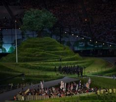 The Green and Pleasant Land in the Olympics opening ceremony