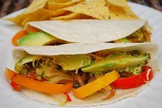 "Cilantro Lime Chicken Tacos from ""What's Cookin' Chicago?"" (use corn tortillas) #glutenfree"