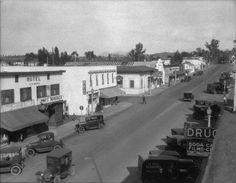 La Mesa Blvd in early 1920s