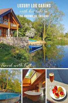 Luxury lodges with hot tubs in the Cotswolds - Travel with Kat