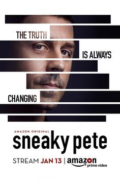 Sneaky Pete (2015–) Season 1, 10 Episodes | 60 min | Crime, Drama | Amazon Originals | スニーキー・ピート シーズン1 全10話