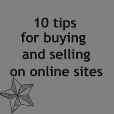 Craigslist, Bookoo, facebook sales sites, etc etc.   Some great tips for using sites like this.