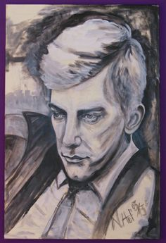 Portrait Donald Sutherland, Nicole Hof 2013 art#illustration#painting#malerei