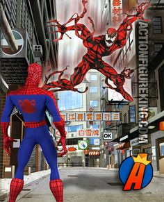 #Marvel sixth-scale #RealActionHeroes #SpiderMan vs #Carnage. Who wins? See the full line of #ActionFigures here… http://actionfigureking.com/list-3/medicom2/real-action-heroes-from-medicom