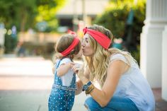 Adorable idea! A mommy & me photo shoot is a great way to capture memories that are so priceless!