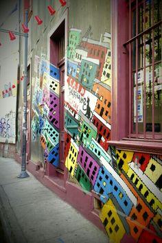 Color. Street art. Valparaiso Color Street, Street Art, Fair Grounds, Fun, Travel, Fotografia, Viajes, Traveling, Trips