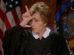 judge judy!