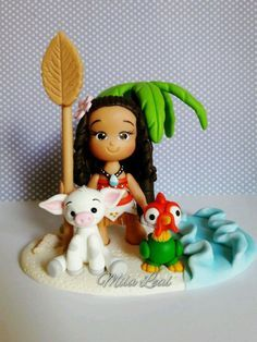 Mini top moana with candle