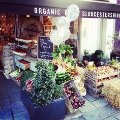 Gut und gesund einkaufen, und das mit Stil: Daylesford Organic hier im Bild Pimlico Road; gibt es aber auch z.B. in München