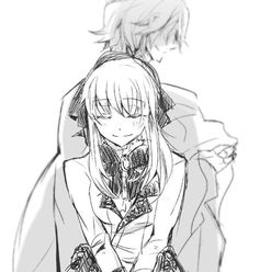 Sharon and Break || Pandora Hearts