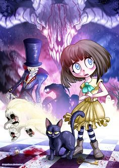 Fan art of Fran Bow graphic adventure game, and also my Halloween submission . I'm not used to like horror games, but I fell in love with this one, I do. Mr Midnight, Bow Games, Bow Wallpaper, Kawaii Wallpaper, Bow Art, Little Misfortune, Gato Anime, Mad Father, Rpg Horror Games