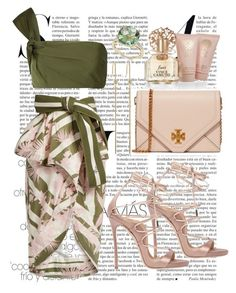 """Untitled #320"" by ivana-j ❤ liked on Polyvore featuring Johanna Ortiz, Dsquared2, Tory Burch, mizuki and Vince Camuto"