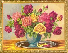 Profusão de rosas