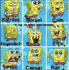 haha! look at Marvel!!!!! OMG!!! And then Prim :'(