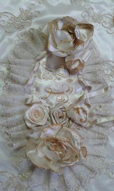 Rose di stoffa per un tappeto per la Camera da letto | Meravigliose ...