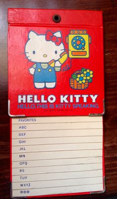 306bbde76 358 Best Hello Kitty Vintage Collection (=^.^=) images in 2019 ...