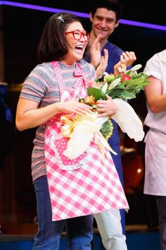 Waitress Gets a Dash of Glee! Jenna Ushkowitz Takes Her First Curtain Call
