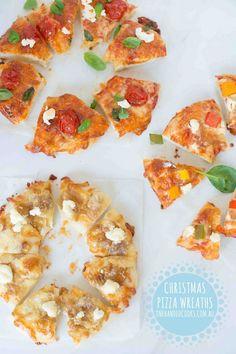 {NEW} CHRISTMAS PIZZ