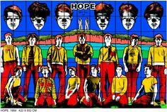 """""""Hope"""" de Gilbert y George. Ritmo binario y simetría axial."""