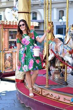 Outfit: Dress Colorfully