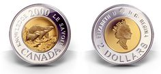 The complete database listed source of Canadian circulation currency coins for the past, present and future. Old Coins, Rare Coins, Canadian Things, Two Dollars, Coins Worth Money, Mint Coins, Coin Worth, Money Matters, Coin Collecting