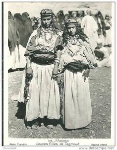 Maroc Jeunes Filles De Tagmout - Marokko
