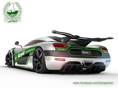 Will This Koenigsegg One:1 Be Dubai's Next Police Car? Click the link to find out...