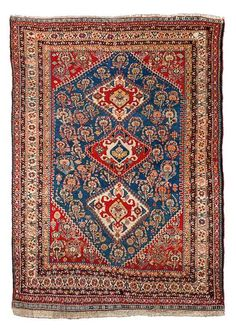 Qashqai Kaskuli late 19th century. Size 184x130 cm. | JOZAN