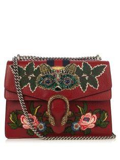 Dionysus embellished leather shoulder bag | Gucci | MATCHESFASHION.COM US